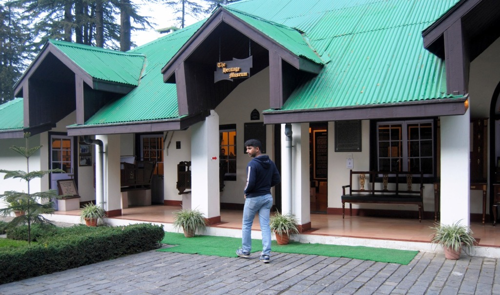 The Army Heritage Museum in Shimla