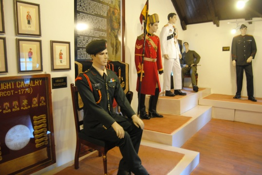 The different uniforms used in Army for different occasions.