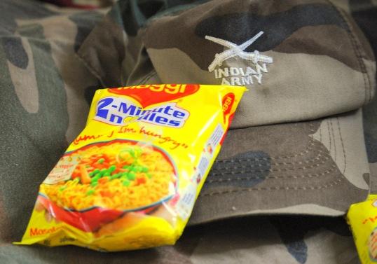 Army maggi