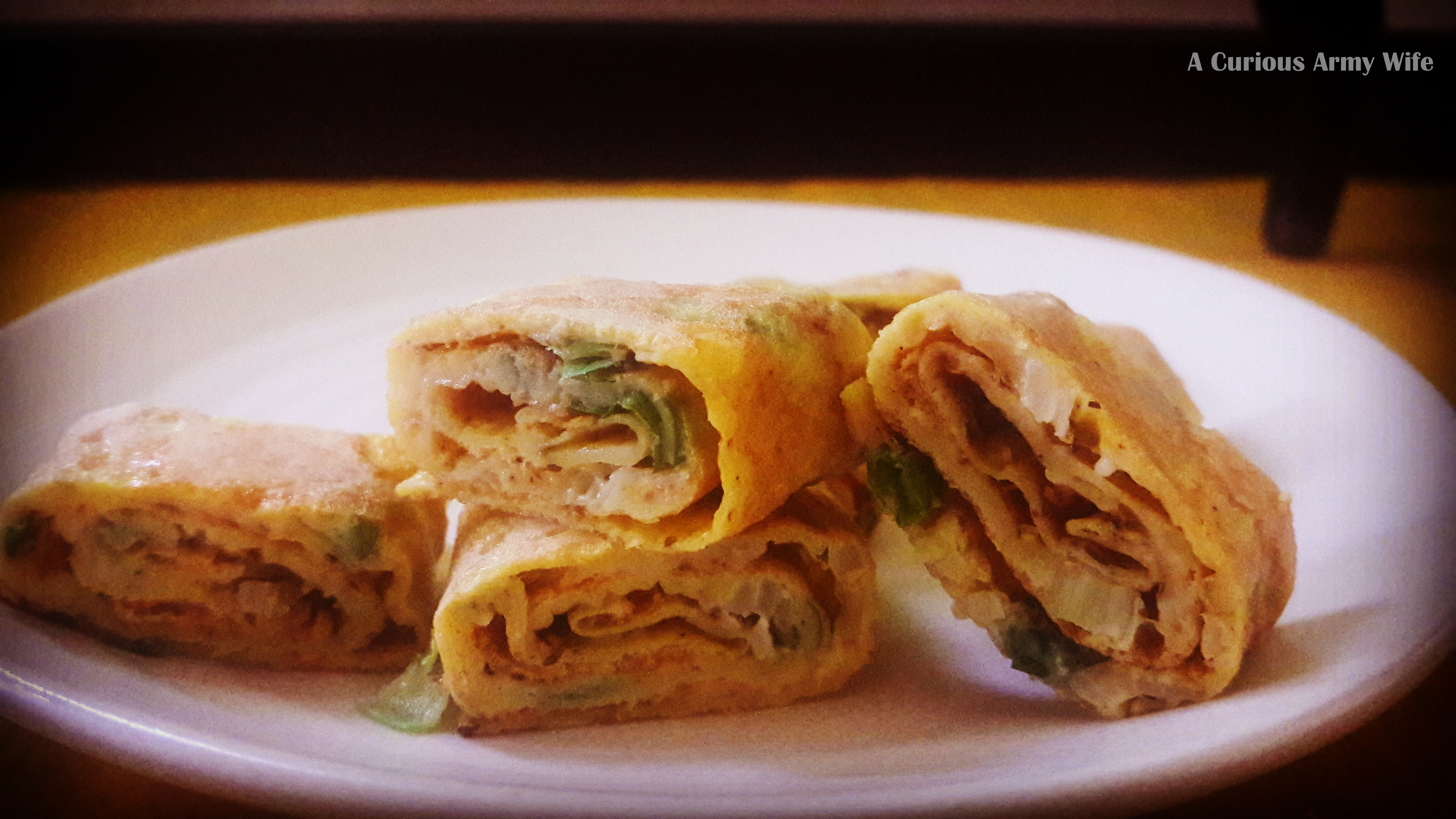 A curious army wife i joined this crazy tribe when i married into korean egg roll forumfinder Choice Image