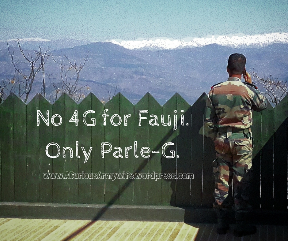 No 4g shoG for Fauji!