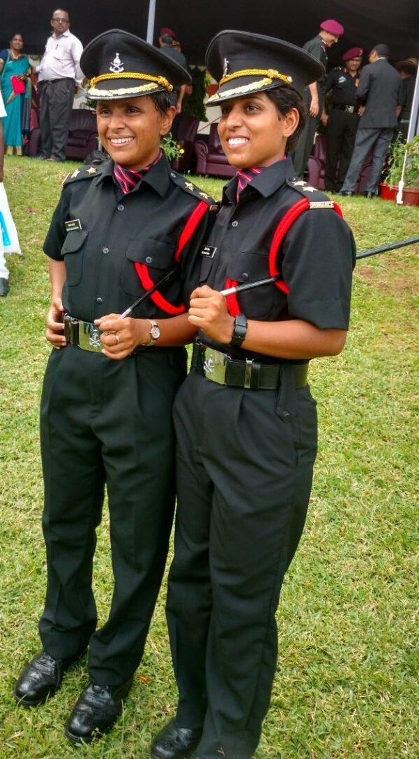 Swati and Nidhi Dubey