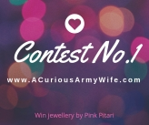 A Curious Army Wife Contest 1 with Pink Pitari